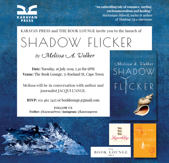 Shadow Flicker launch invite