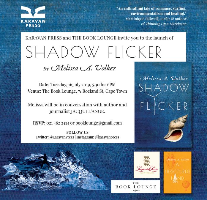 Shadow Flicker launch invite