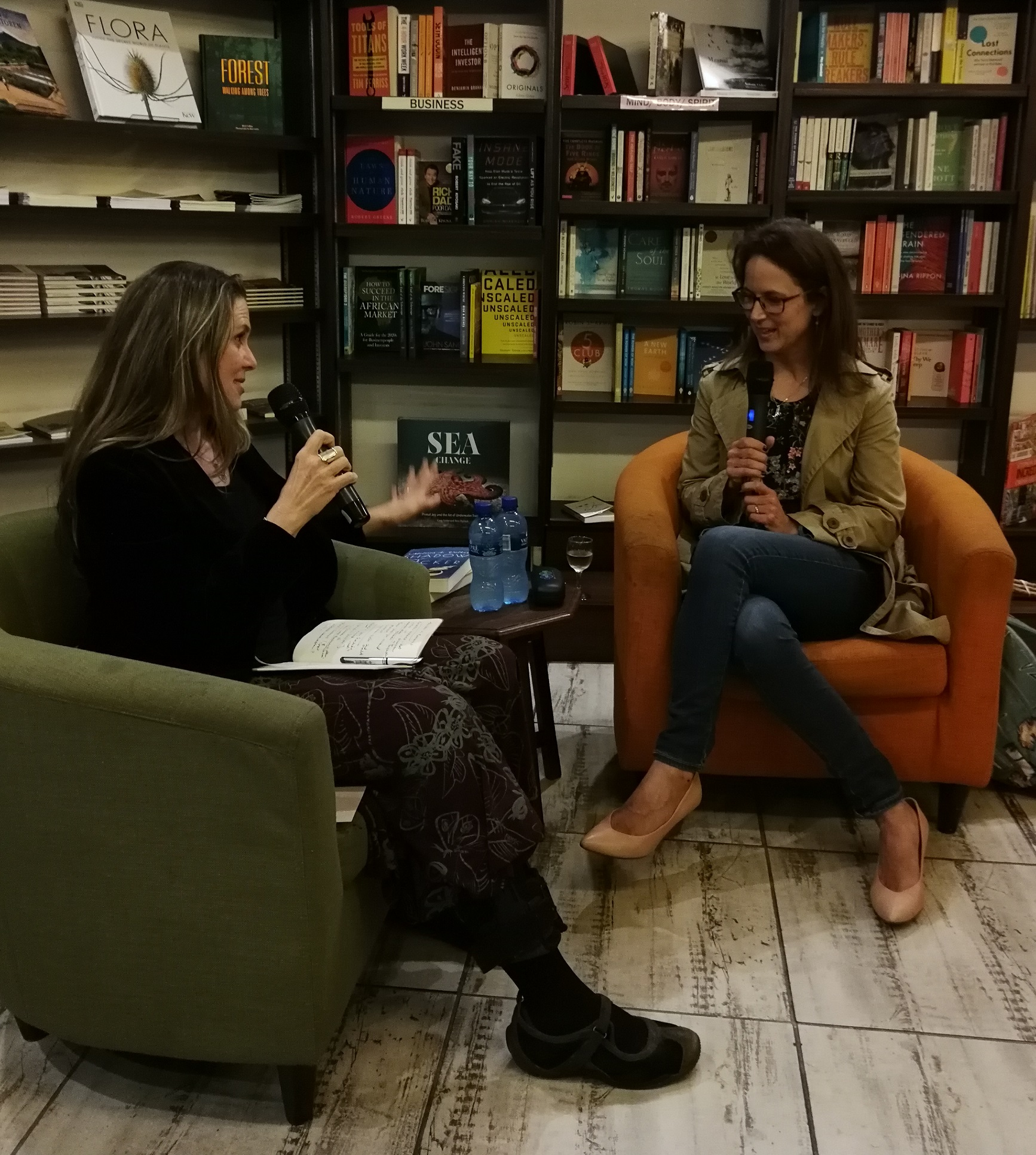 Shadow Flicker launch at Book Lounge2