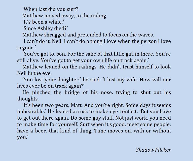 Shadow Flicker quote
