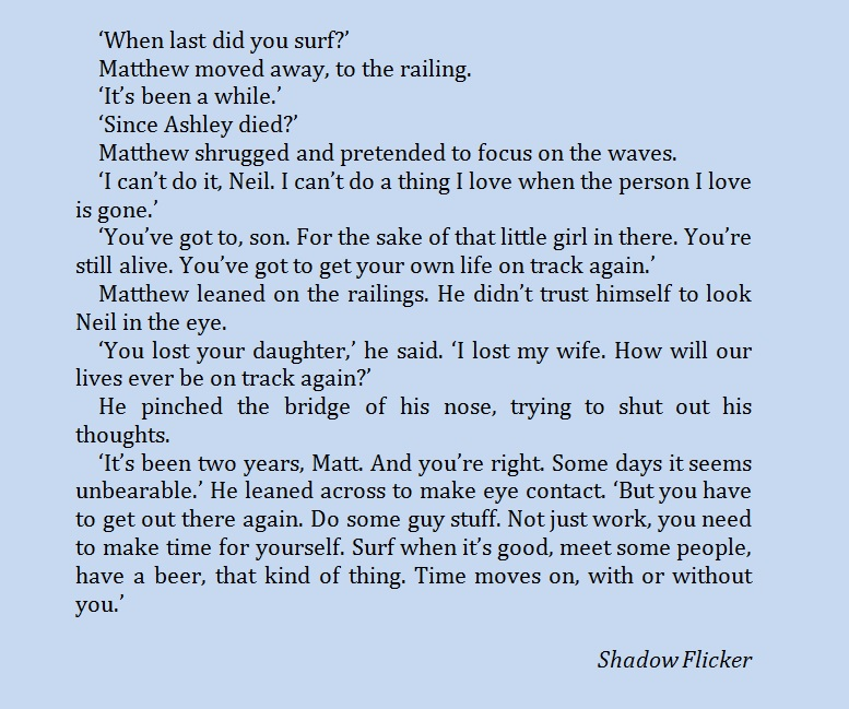 Shadow Flicker quote
