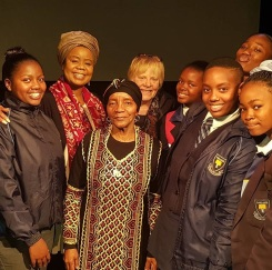 56 Performing Mother to Mother, written by Sindiwe Magona and directed by Janice Honeyman, for High School Students on Mandela Day in 2018
