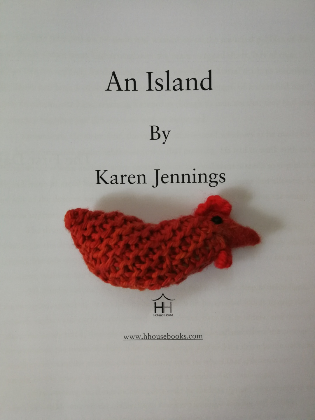 An Island by Karen Jennings