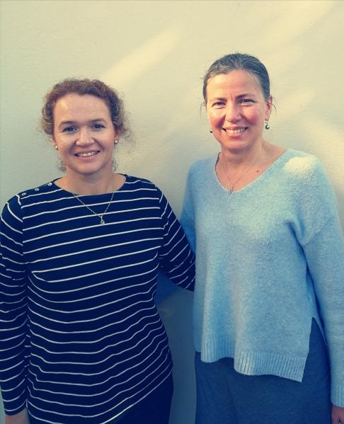 Karen Jennings with Karina M. Szczurek